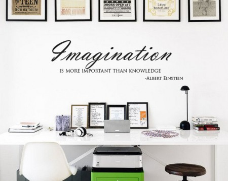 Imagination Wall Decal Sticker