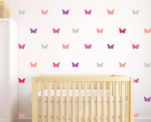Butterfly Wall Decal Set