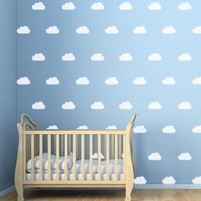 Cloud Wall Decal Set