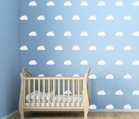 Cloud Wall Decal Set