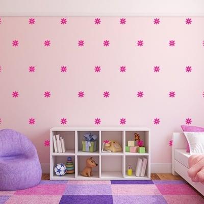Flower Wall Decal Set