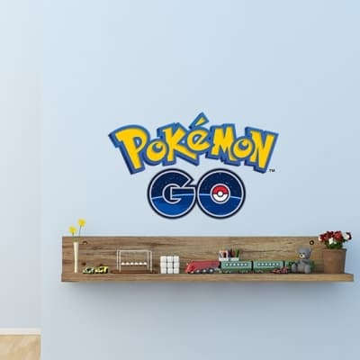 Pokemon Go Wall Decal Sticker