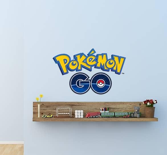Pokemon Go Wall Decal Sticker