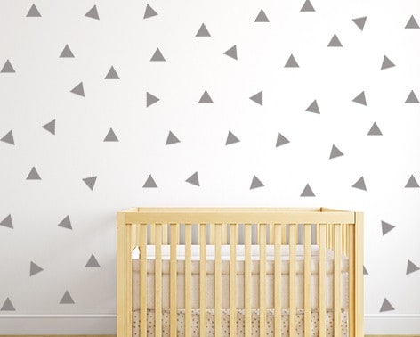 Triangle Wall Decal Set