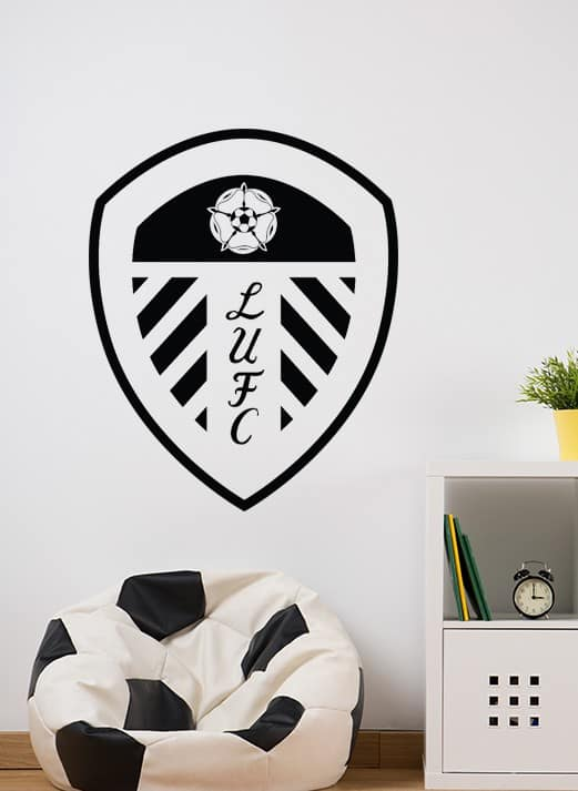 Add This Leeds United Crest Wall Decal Sticker To Your D 233 Cor