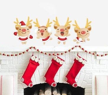 Cute Reindeer Wall Sticker