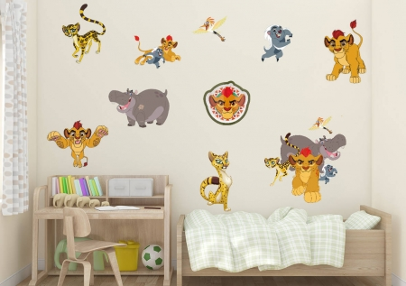 The Lion Guard Wall Sticker Set