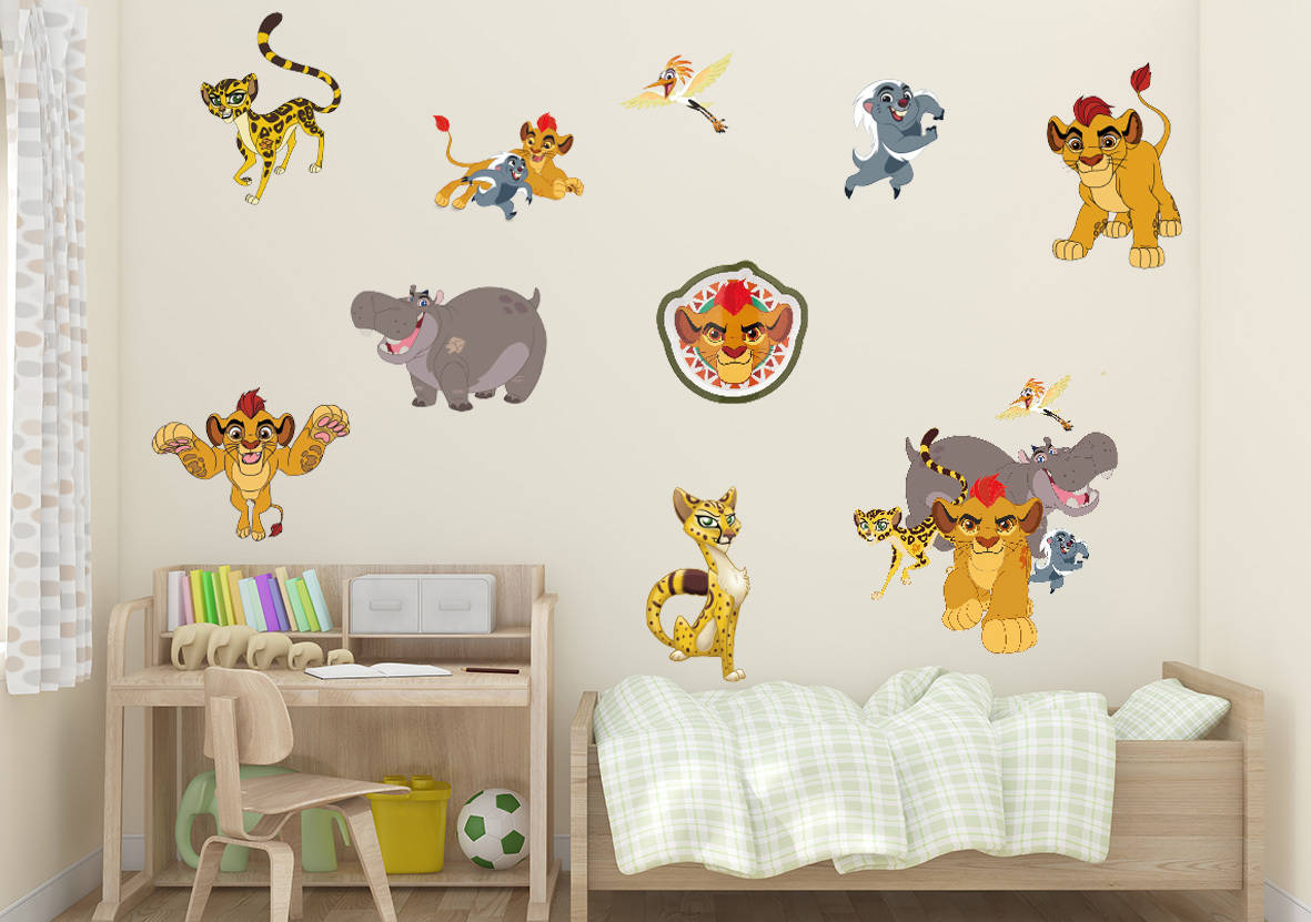 The Lion Guard Wall Sticker Set