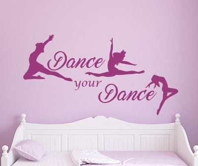 Dance your Dance Wall Decal