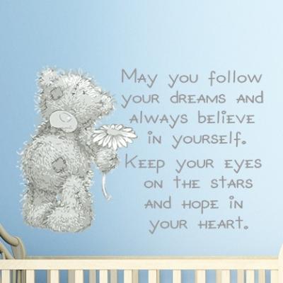 Tatty Teddy Dreams Wall Sticker