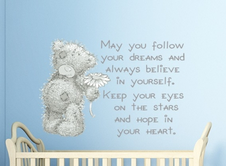 Tatty Teddy Dreams Wall Sticker