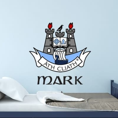 Dublin Crest Wall Decal