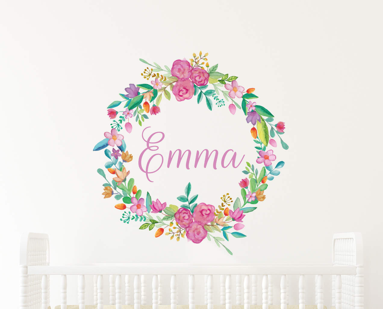 Dance Wall Murals Add Some Color With This Wonderful Personalised Flower