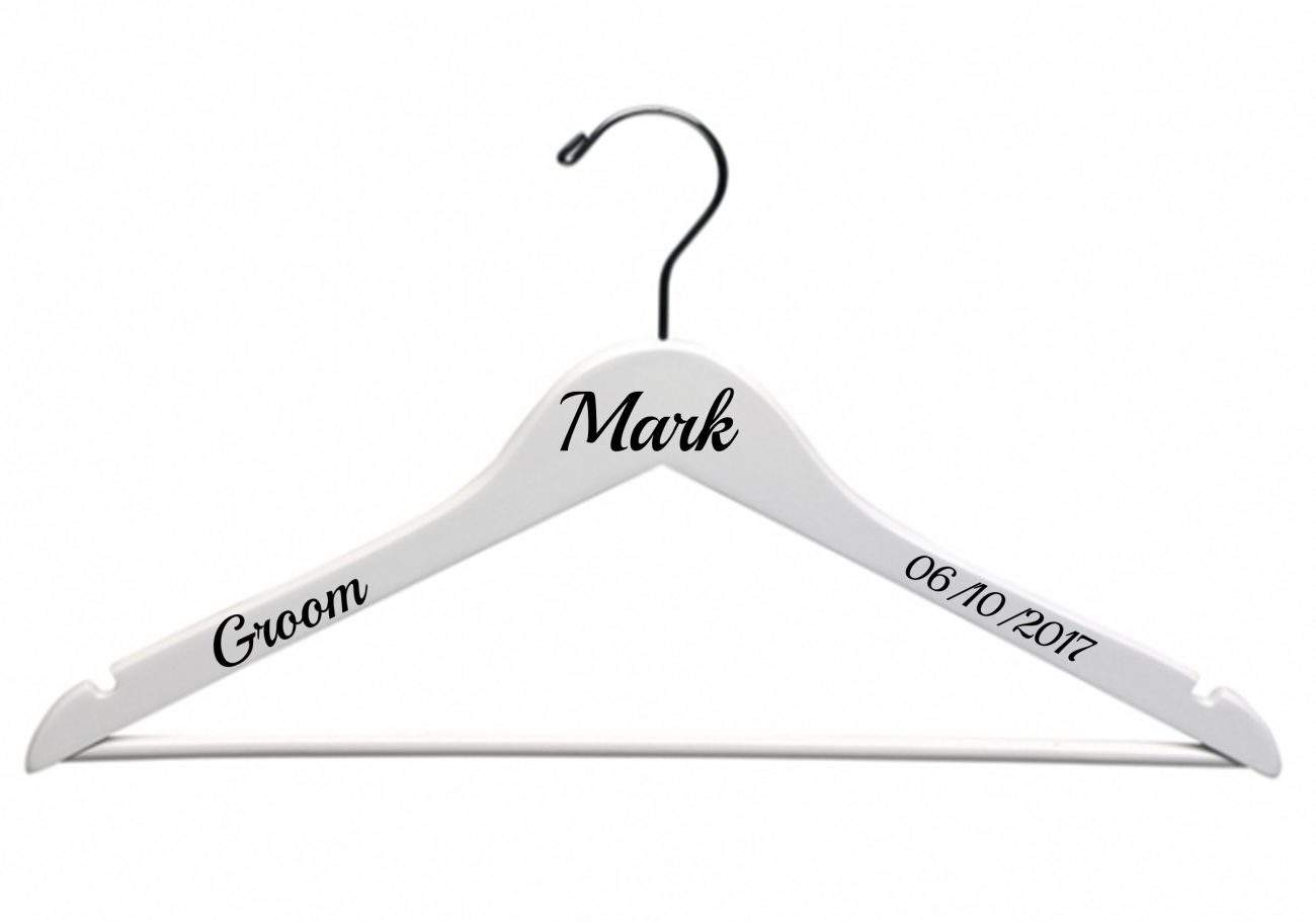 Wedding Hanger Decals