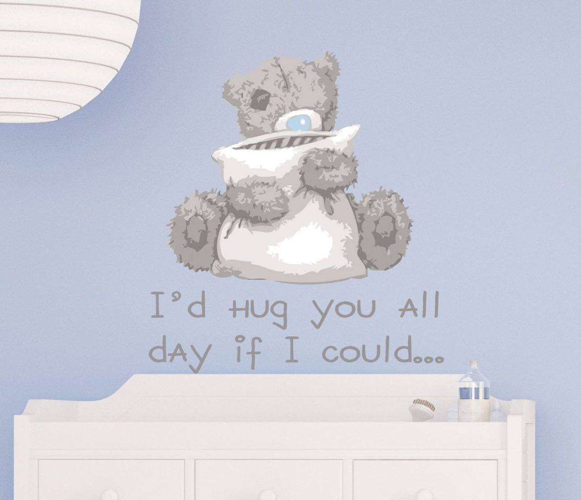 Tatty Teddy Hug Wall Sticker