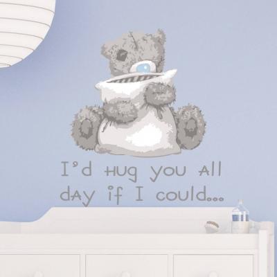 Tatty Teddy Hug Wall Sticker