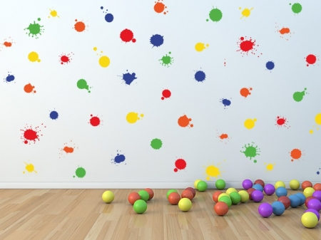 Splash Wall Decal Sticker