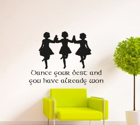 Dance Your Best Wall Decal