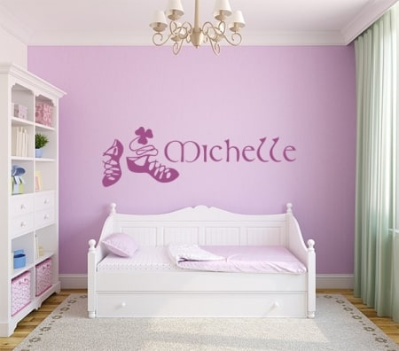 Irish Dance Name Wall Decal