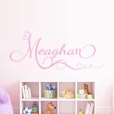 Personalised Name Wall Decal