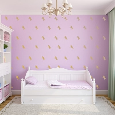 Unicorn Wall Decal Set