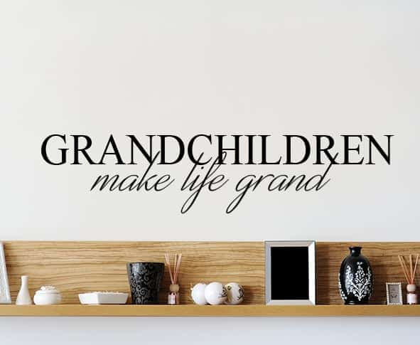Add This Beautiful Grandchildren Make Life Grand Wall