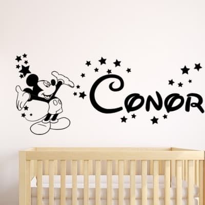 Mickey Mouse Stars Wall Decal