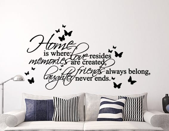 Where Love Resides Wall Decal