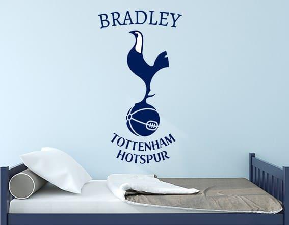 Tottenham hotspur crest wall decal