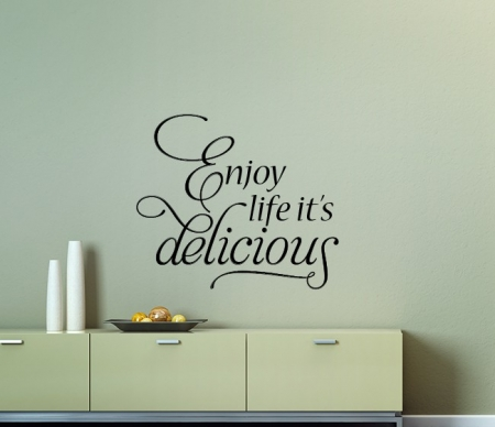 Enjoy Life Wall Decal