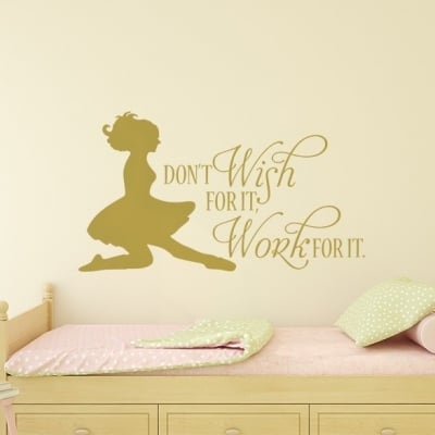 Irish Dancer Work For It Wall Decal