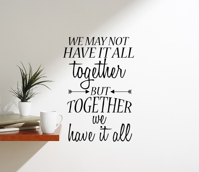 All Together Wall Decal