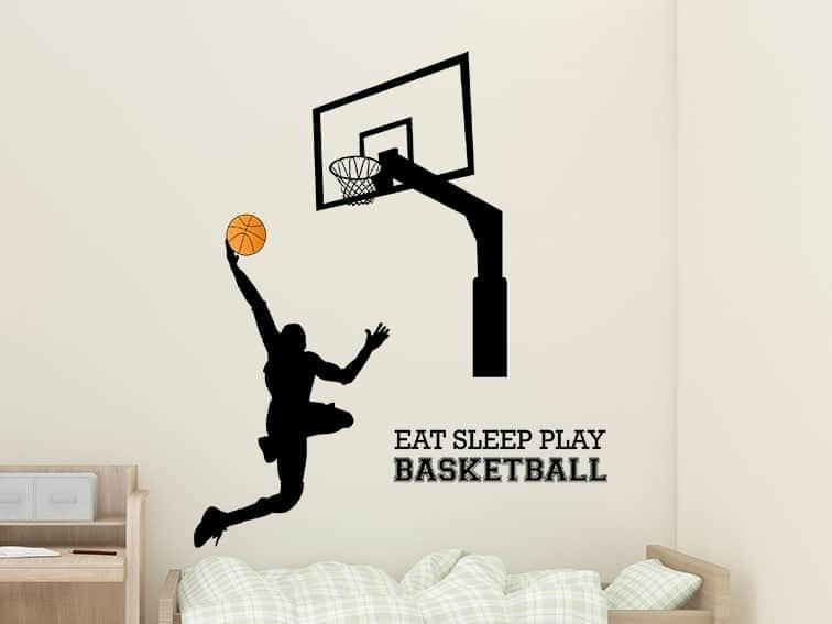 Basketball Wall Decal Sticker