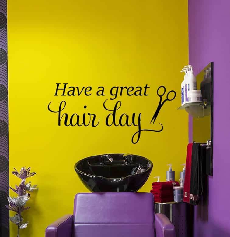 Great Hair Day Wall Decal