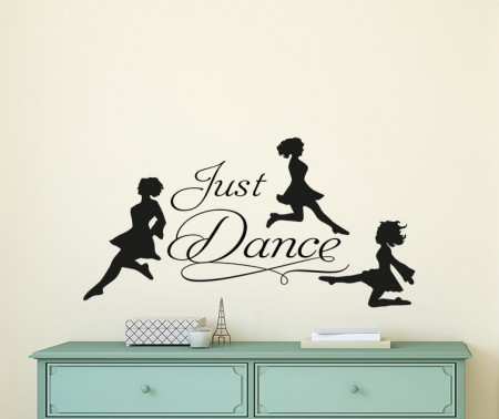 Just Dance Irish Dancer Wall Decal