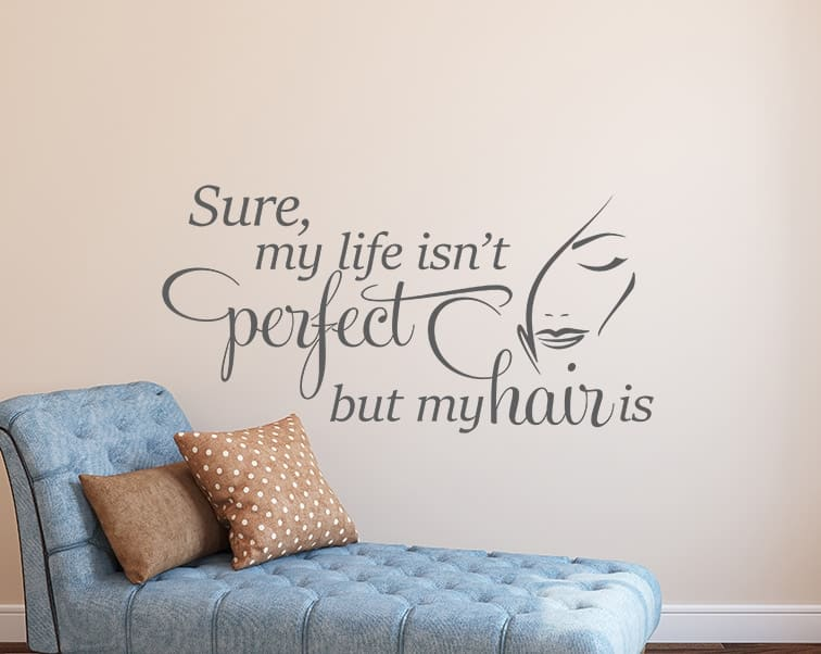 Perfect Hair Wall Decal
