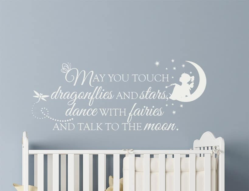 Dance with Fairies Wall Decal