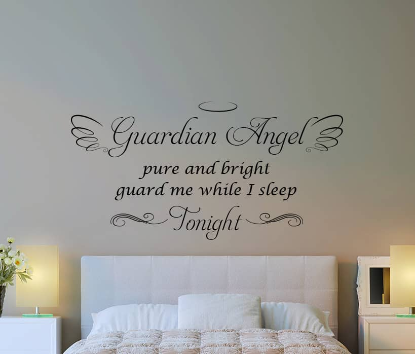 Guardian Angel Wall Decal