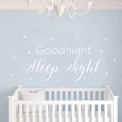Goodnight Wall Sticker