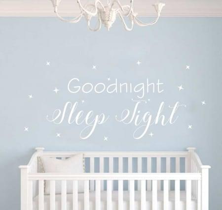 Goodnight Wall Sticker