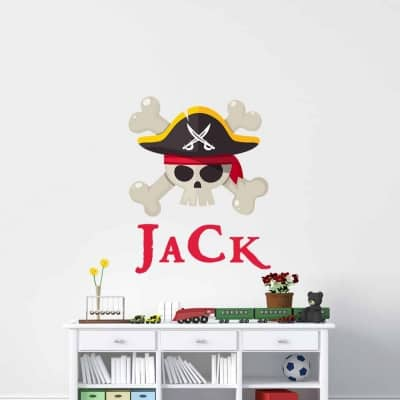 Pirate Name Wall Decal