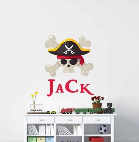 Pirate Name Wall Decal