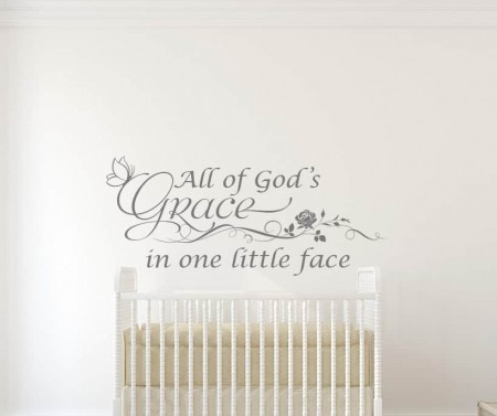 All of God's Grace Wall Decal