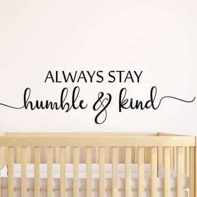 Humble and Kind Wall Decal