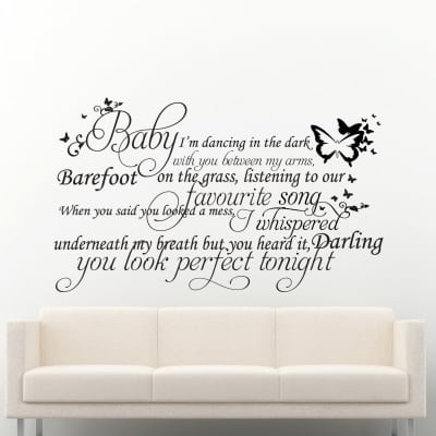 Perfect Wall Decal Sticker