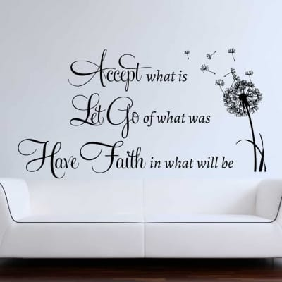 Have Faith Wall Decal Sticker