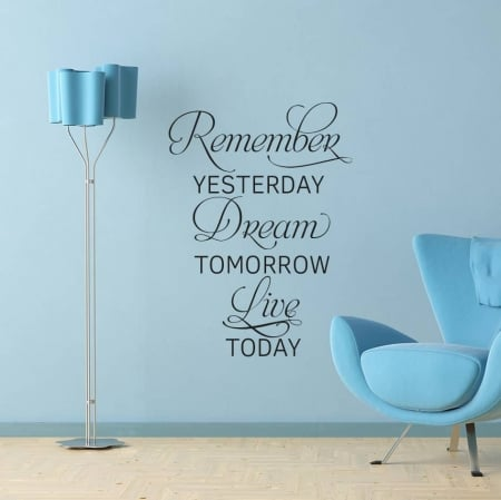 Live Today Wall Decal Sticker