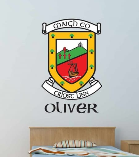 Mayo Crest Wall Decal