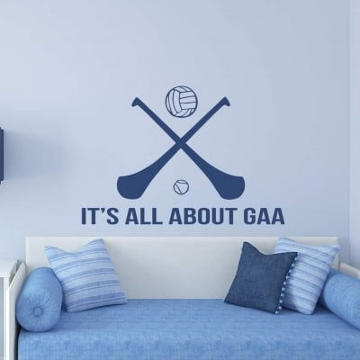 All about G.A.A. wall art decal sticker