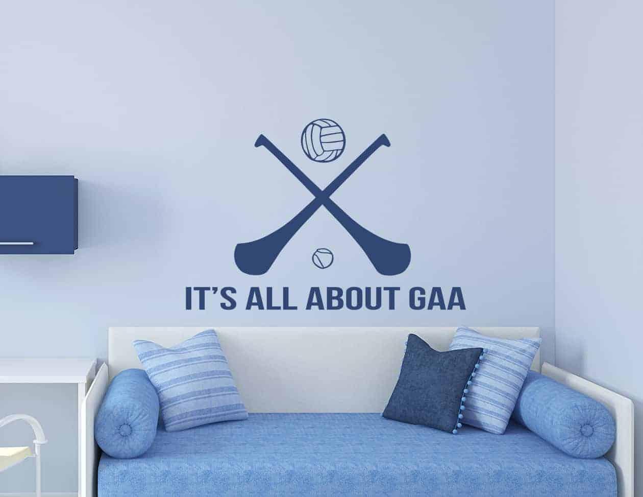 All about G.A.A. wall art decal sticker